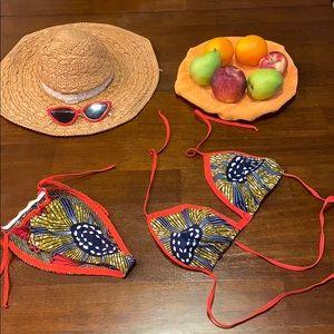 Handmade bikini set
